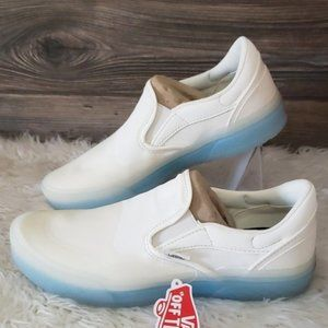 New Vans Mod Slip On Marshmallow White Clear Shoes